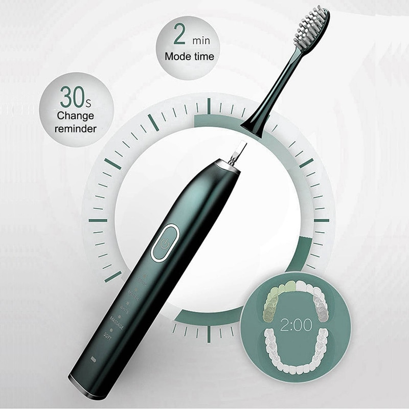 Automatic Toothbrush Ultrasonic Smart Toothbrush Household netic Levitation Adult Couple Charging Electric Toothbrush enlarge