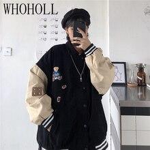 Women Spring Baseball Uniform Autumn coat Jacket for women Korean Harajuku Street Style Coat Loose P
