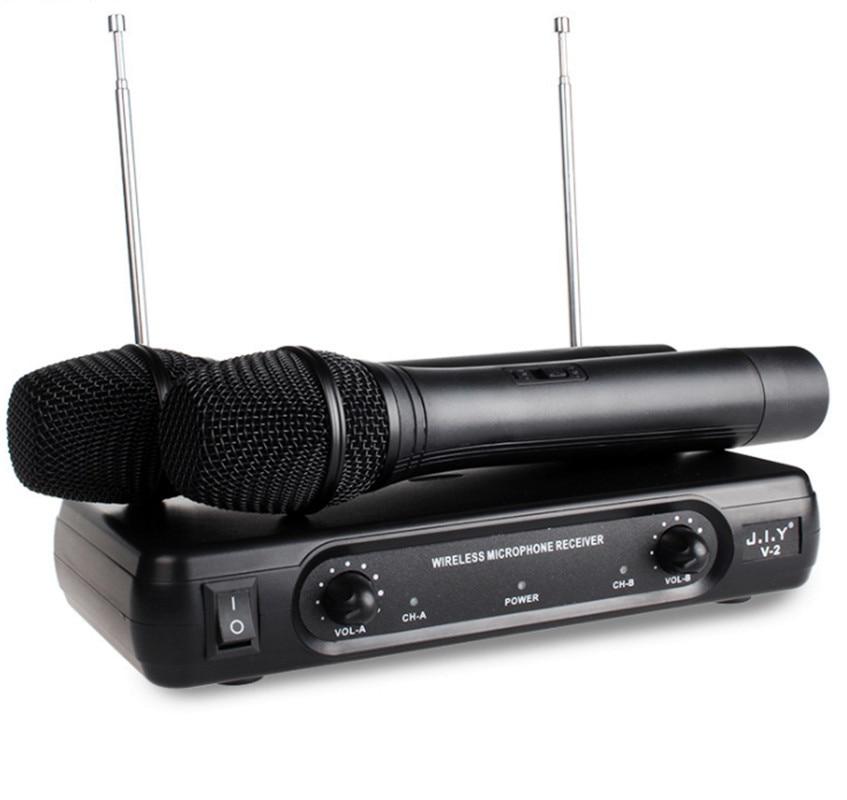 skm9000 100 m uhf wireless microphone professional karaoke system dual cordless mic 2 channel receiver ktv microfono inalambrico Wireless Karaoke Microphone MIC mikrofon Karaoke player KTV Karaoke Echo System Digital Sound Audio Mixer Singing Machine