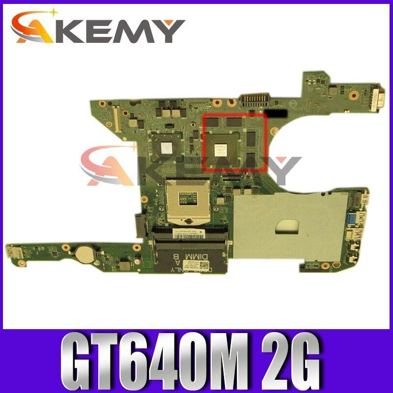الأصلي اللوحة لابتوب ديل انسبايرون 7420 I7420 GT640M 2G HM77 SLJ8C اللوحة CN-03C38H 03C38H DA0R08MB6E4 N13P-GE-A2