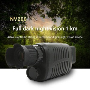 HD Infrared Night Vision Device Monocular Outdoor Digital Telescope Night Scope Sight with Day and Night Dual-use for Hunting