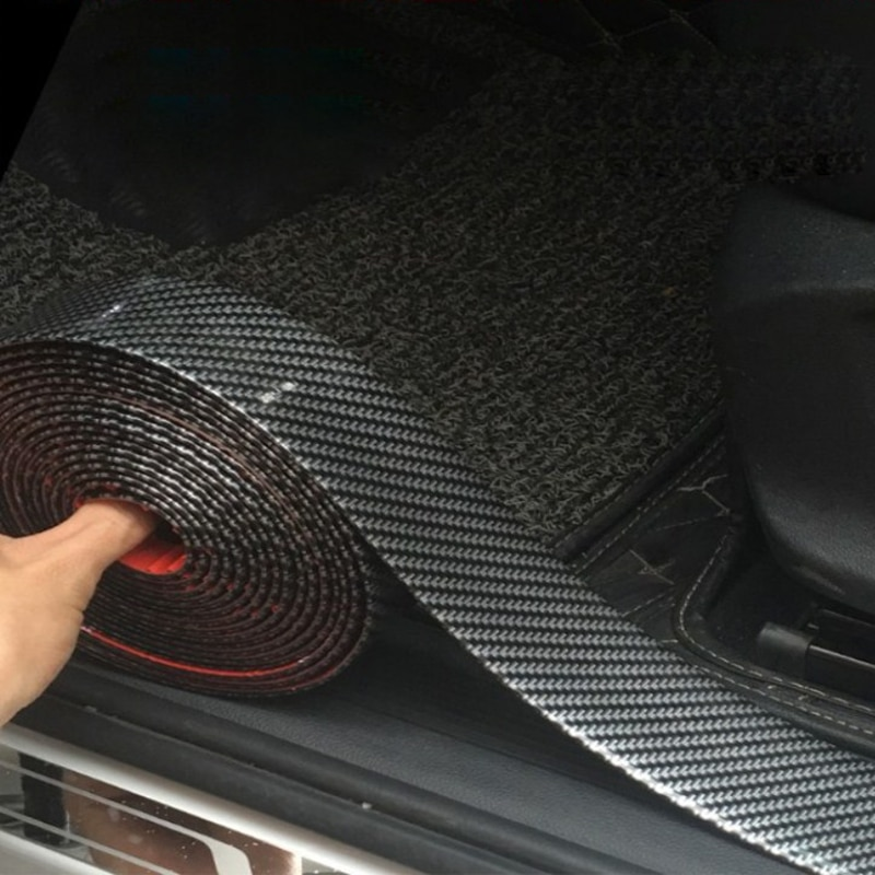 Parachoques del coche de DIY puerta borde Protector de para Volvo XC60 XC70 XC90 S40 S60 S70 S80 S90 V40 V50 V60 V90