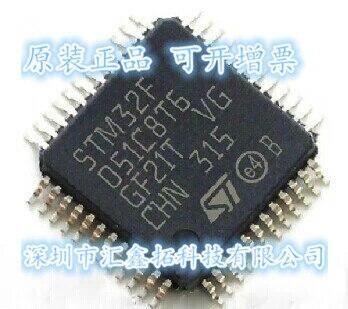 10pcs lot stm8s207c6t6 qfp48 10pcs/lot  STM32F051C8T6 LQFP48