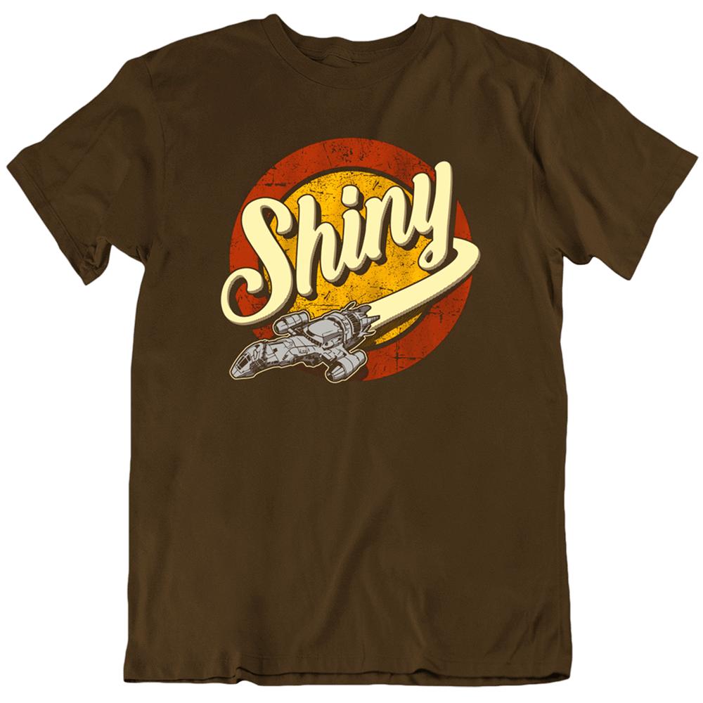 T brilhante firefly galaxy serenidade espaço citações firefly filme tv adulto t camisa