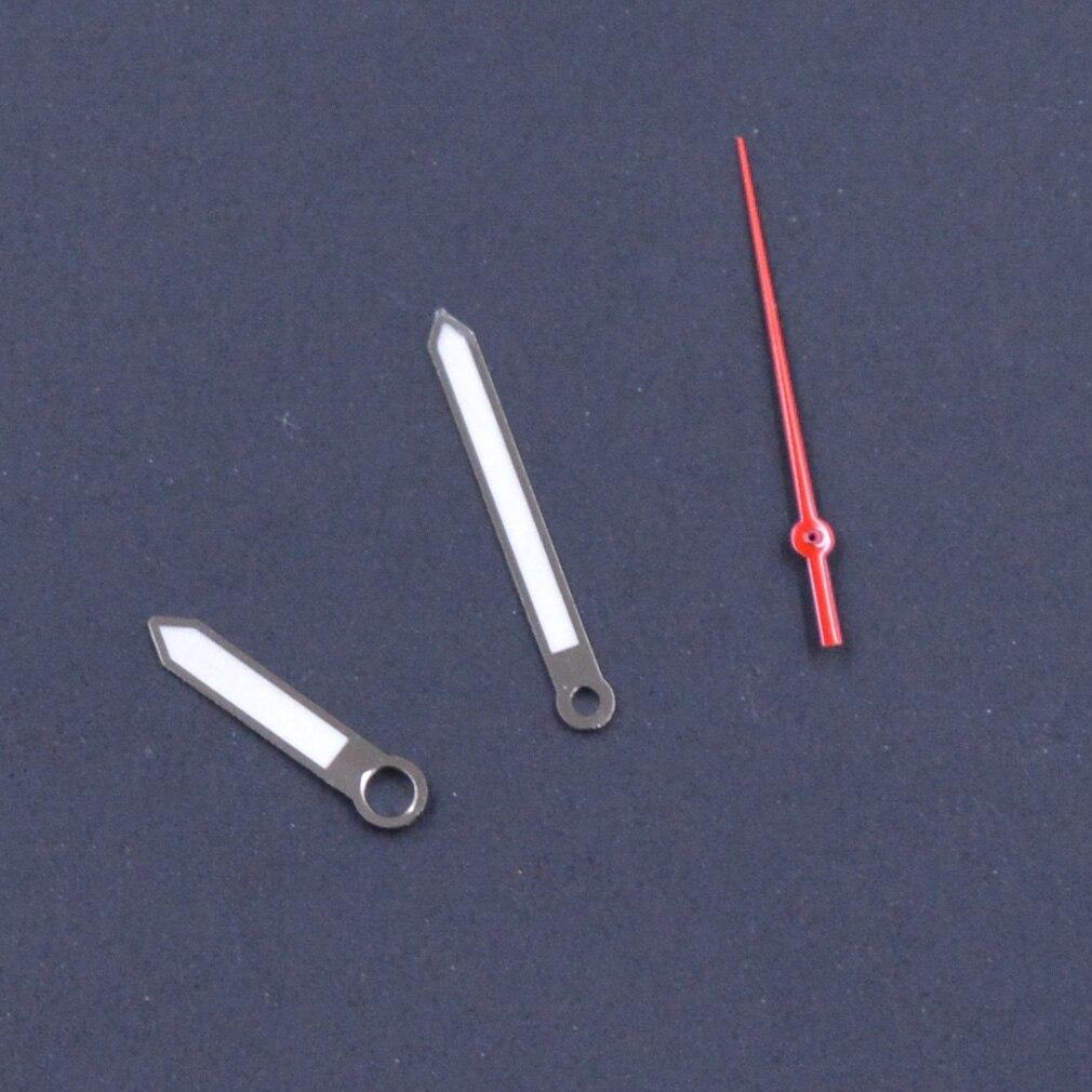 Ajuste Japão Movimento Vermelho Segunda Mão Assista Peças Skx – Sbbn Relógio Luminoso Mãos P24 Nh35 Nh36
