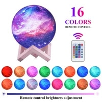 3d print star moon lamp colorful change touch home decor creative gift usb led night light galaxy lamp decor birthday gift