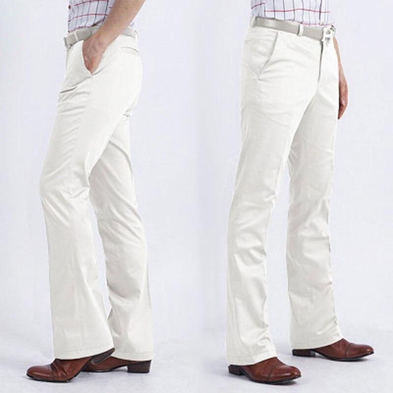 2020 мужские деловые повседневные леггинсы, тонкие белые брюки, не выгорающие мужские большие брюки в Корейском стиле, широкие брюки