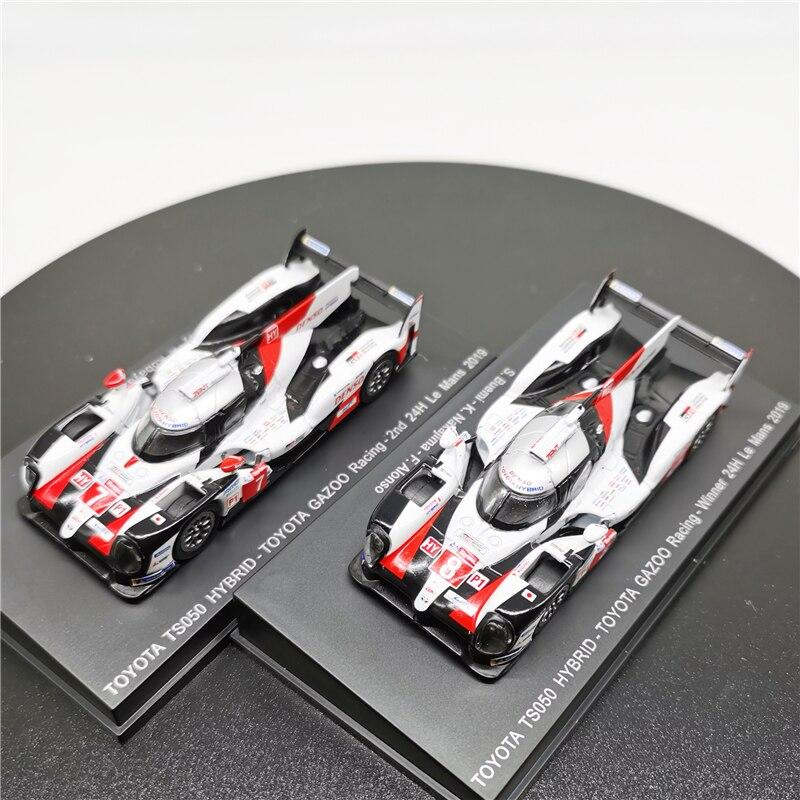 Spark 164 TOYOTA TS050 Hybrid GAZOO Racing No.7 2nd/No.8 Winner 24H Le Mans 2019 литая под давлением модель автомобиля