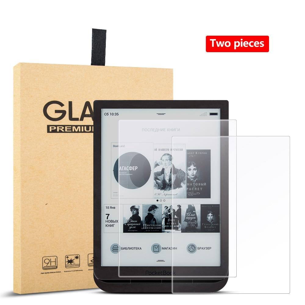 Protector de pantalla de vidrio templado para Pocketbook 7,8 InkPad 3 PB740 Pro e-books de 740 , a prueba de arañazos fácil de instalar (2 unids/lote)