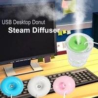 Purificateur dair Portable Mini UFO Ion negatif USB humidificateur dair diffuseur dhuile essentielle darome brumisateur de vapeur pour la maison