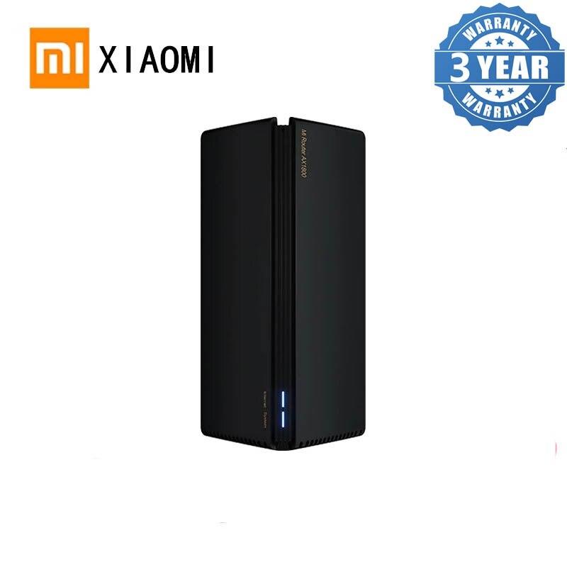 شاومي AX1800 راوتر لاسلكي شبكة واي فاي VPN ثنائي التردد 256MB 2.4G 5G كامل جيجابت OFDMA مكرر إشارة مكبر للصوت PPPoE