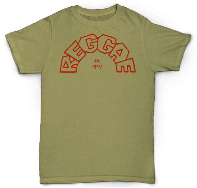 REGGAE 45 RPM T camisa SKA vinilo 12 & #034; VINTAGE Jackie Mittoo JAZZ FUNK SOU
