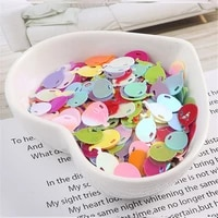 10gpack ab colors flower balloon dolphin shape sequins pvc paillettes diy wedding sewing craft costume lentejuelas accessories