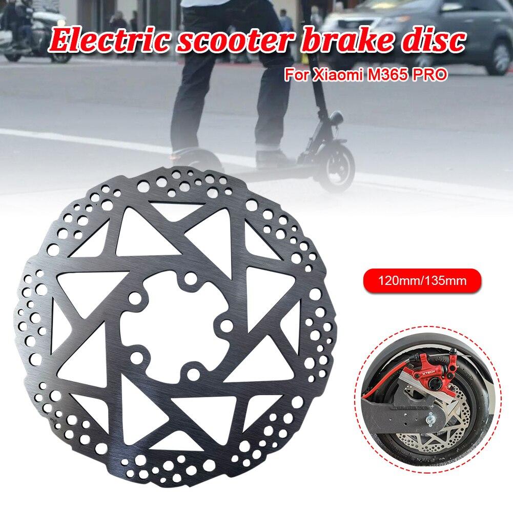Rotor de disco de freno de 120mm/135mm, piezas de repuesto para patinete...