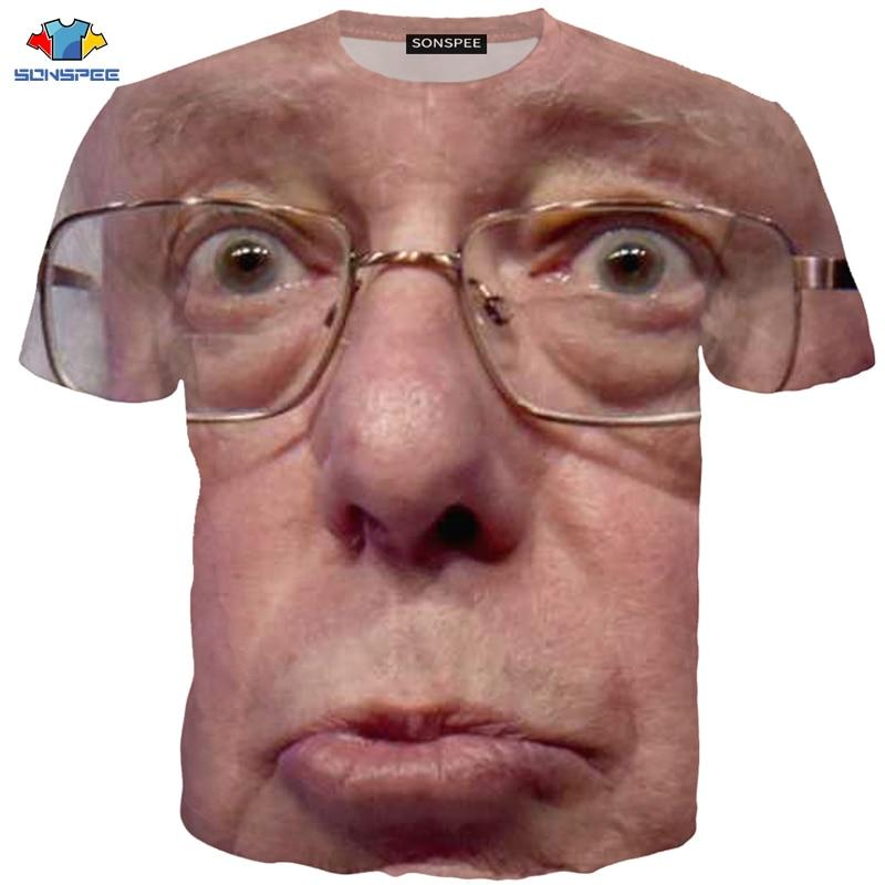 Camiseta de caballero en 3D de SONSPEE, camiseta divertida de Harajuku para hombre, camiseta humorística de dibujos animados, camiseta de caballero, camiseta de capitán calva, Tops