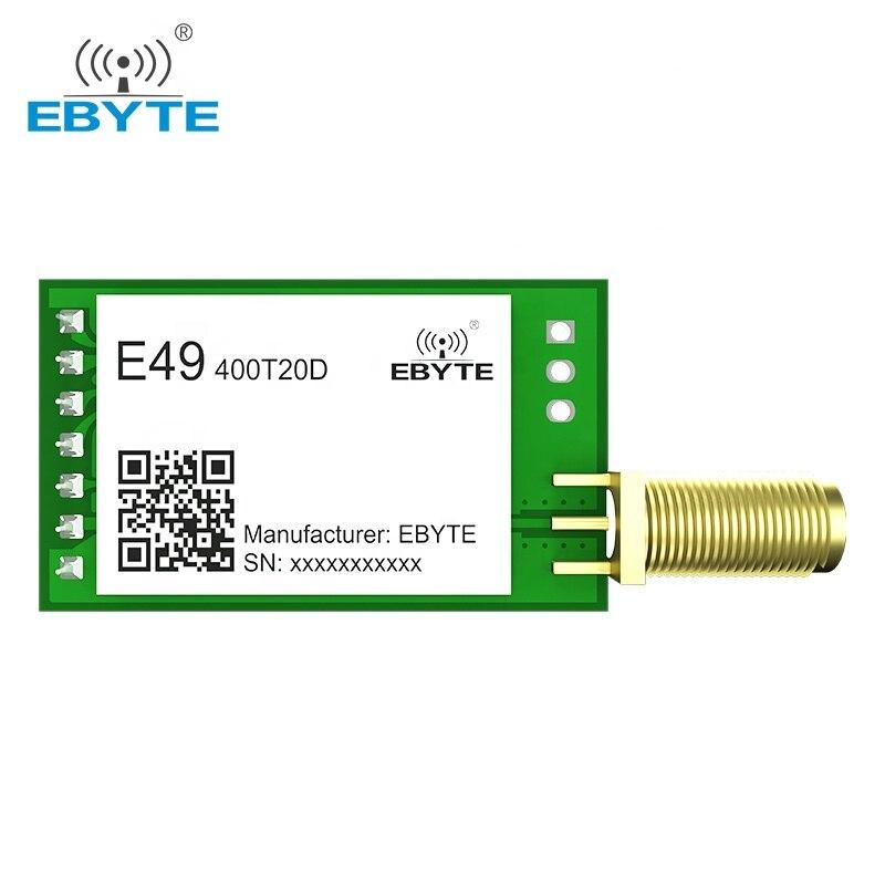 e49 400m20s 433mhz 20dbm cmt2300a chip wireless modules cost effective wireless data transmission spi module long range ebyte 433MHz Wireless Transmitter and Receiver Module 20dBm 100mW GFSK EBYTE E49-400T20D RF Module DIP Ultra-High Cost-Effective