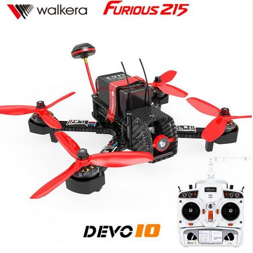 Walkera Furious 215 RTF Witith DEVO 10 transmitter Camera 600TVL F3 Flight Control RC Quadcopter Rac