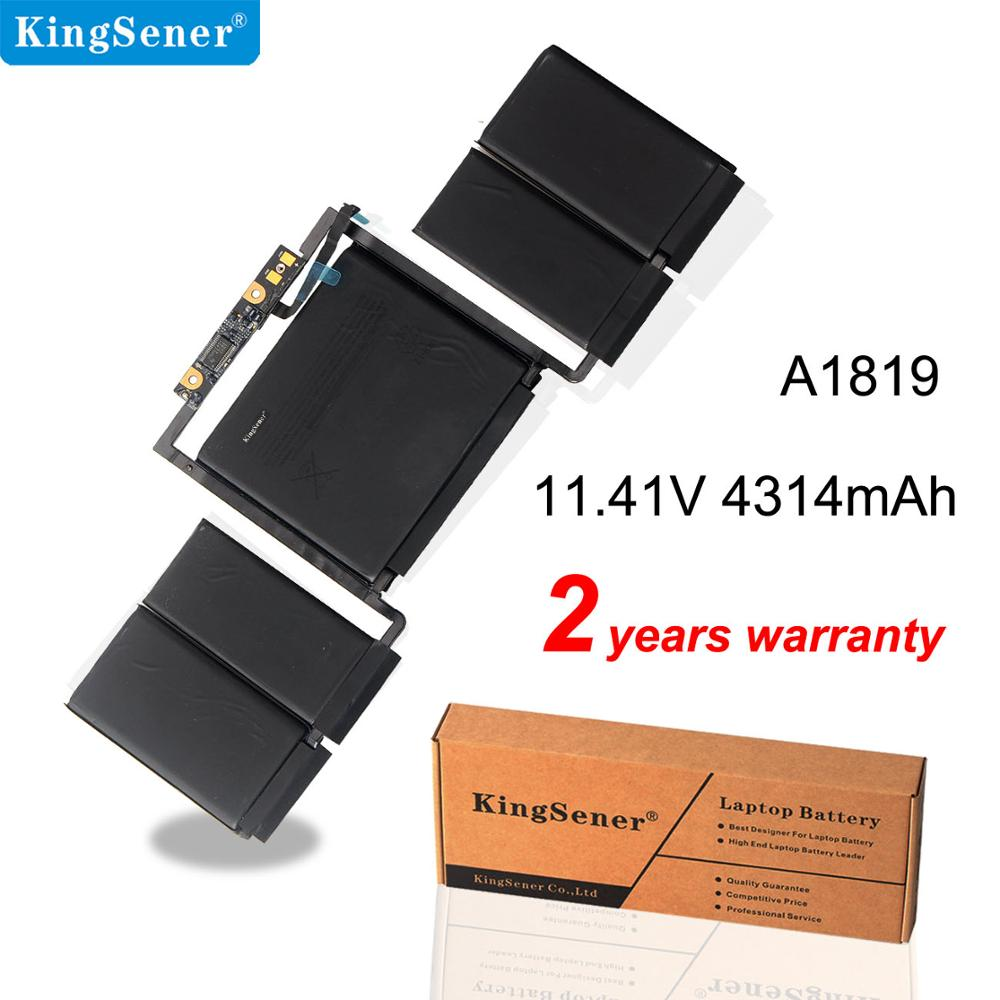 Kingsener A1819 Battery for Apple MacBook Pro 13\'\' Touch Bar A1706 Late 2016 Mid 2017 EMC 3071 EMC 3163 MLH12LL/A MPXV2LL/A