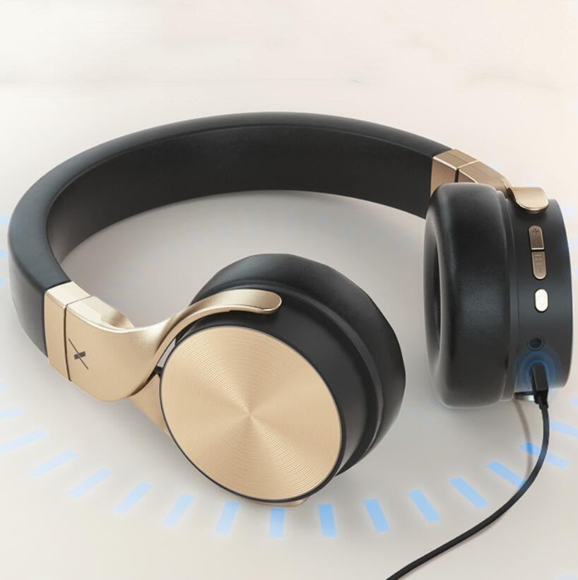 RIWBOX BN-5 Bluetooth 5.1 HIFI Headset Wireless Gaming With Microphone CVC DSP Noise Reduction Heavy Bass Sports Headphone enlarge