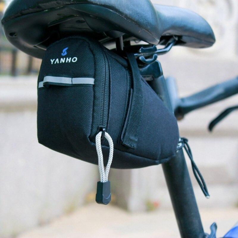 Ciclismo Front de la bolsa del marco del tubo de la bicicleta bolsas bolso de montaña triángulo bicicleta bolsa de gran capacidad en la mochila