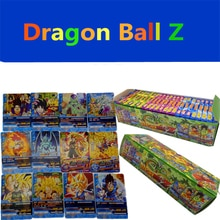 Dragon Ball 34 pcs/lot Collection Cards Super Saiyan Goku Vegeta Dragon ball z music box King Tradin