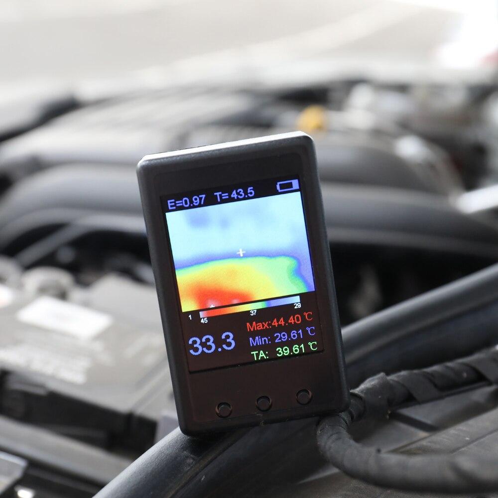2.4 بوصة شاشة عرض المحمولة المحمولة الحرارية كاميرا مجسات حرارة الأشعة تحت الحمراء الرقمية عالية الاهطال كاميرا تصوير
