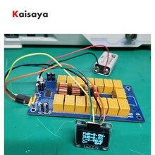 Mini 0.96 Inch Oled ATU-100 Diy Kits 1.8-50Mhz ATU-100 Mini Automatische Antenne Tuner Door N7DDC 7X7 Firmware Geprogrammeerd E3-010