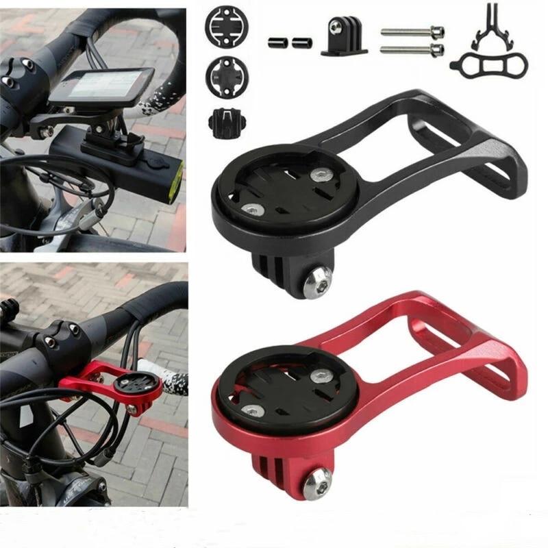 Road Bicycle Computer Camera Mount Holder Out Front Bike Stem Extension Support Holder For Garmin Bryton Cateye GoPro Light недорого