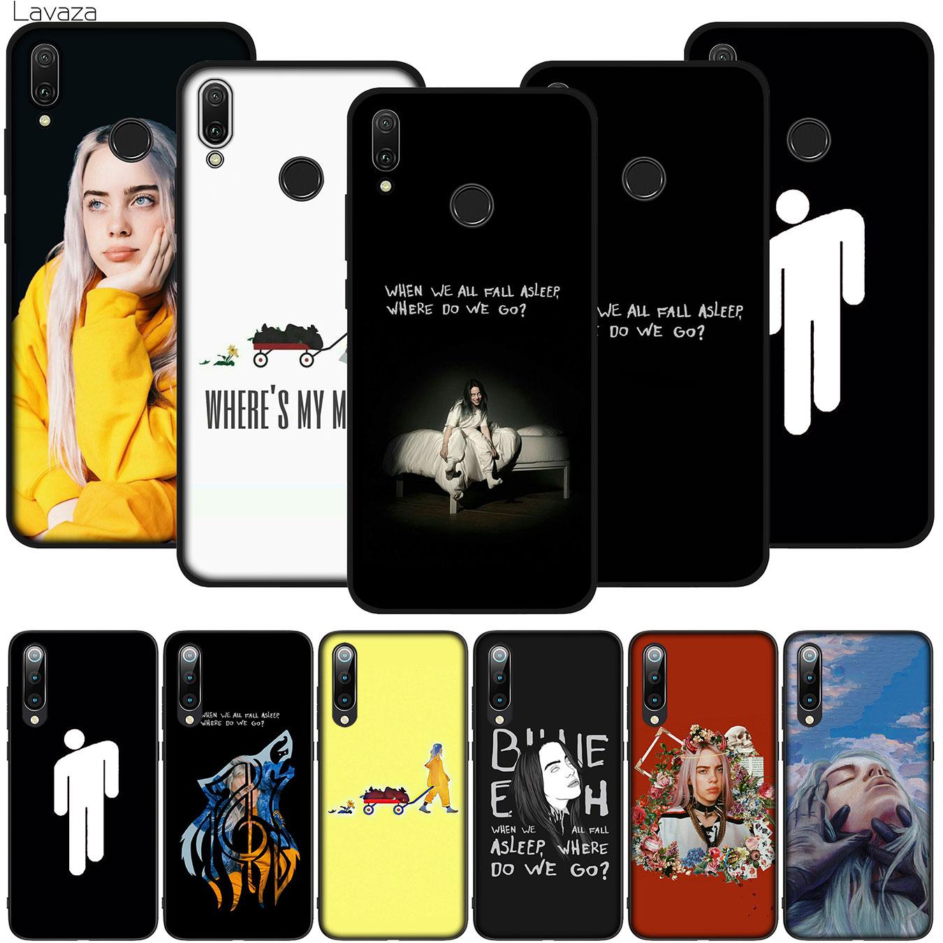 Funda dura para teléfono Lavaza Billie Eilish para Xiaomi Redmi K20 8A 7A 6A Note 8 8T 7 5 6 Pro 4 4X