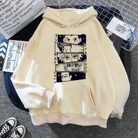 women hoodies hunter x hunter sweatshirts killua zoldyck anime manga black hoodies bluzy tops clothes anime hoodie goth clothes