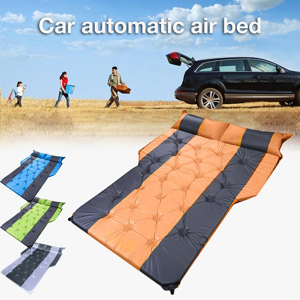 Coche cama de aire automática SUV tronco de viaje aire suelo cama MPV colchón de aire portátil Camping al aire libre colchón para viaje Camping