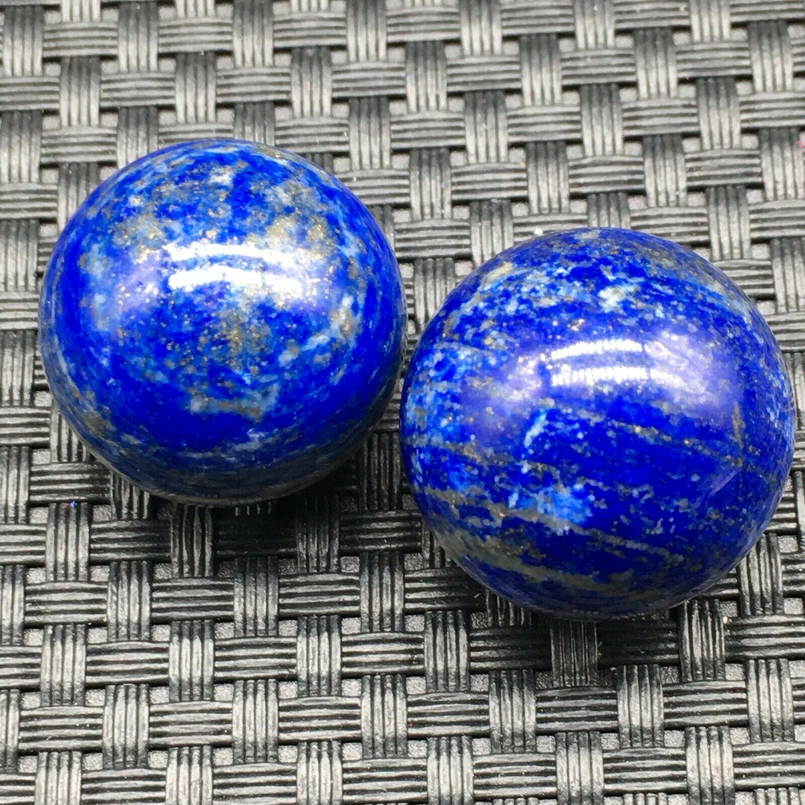 Lapislázuli-bolas de cristal naturales y minerales, Gema natural de cristal, reiki, feng...
