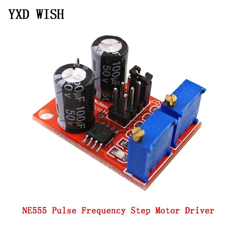 NE555 рабочий цикл Регулируемая частота генератор импульсов плата привода