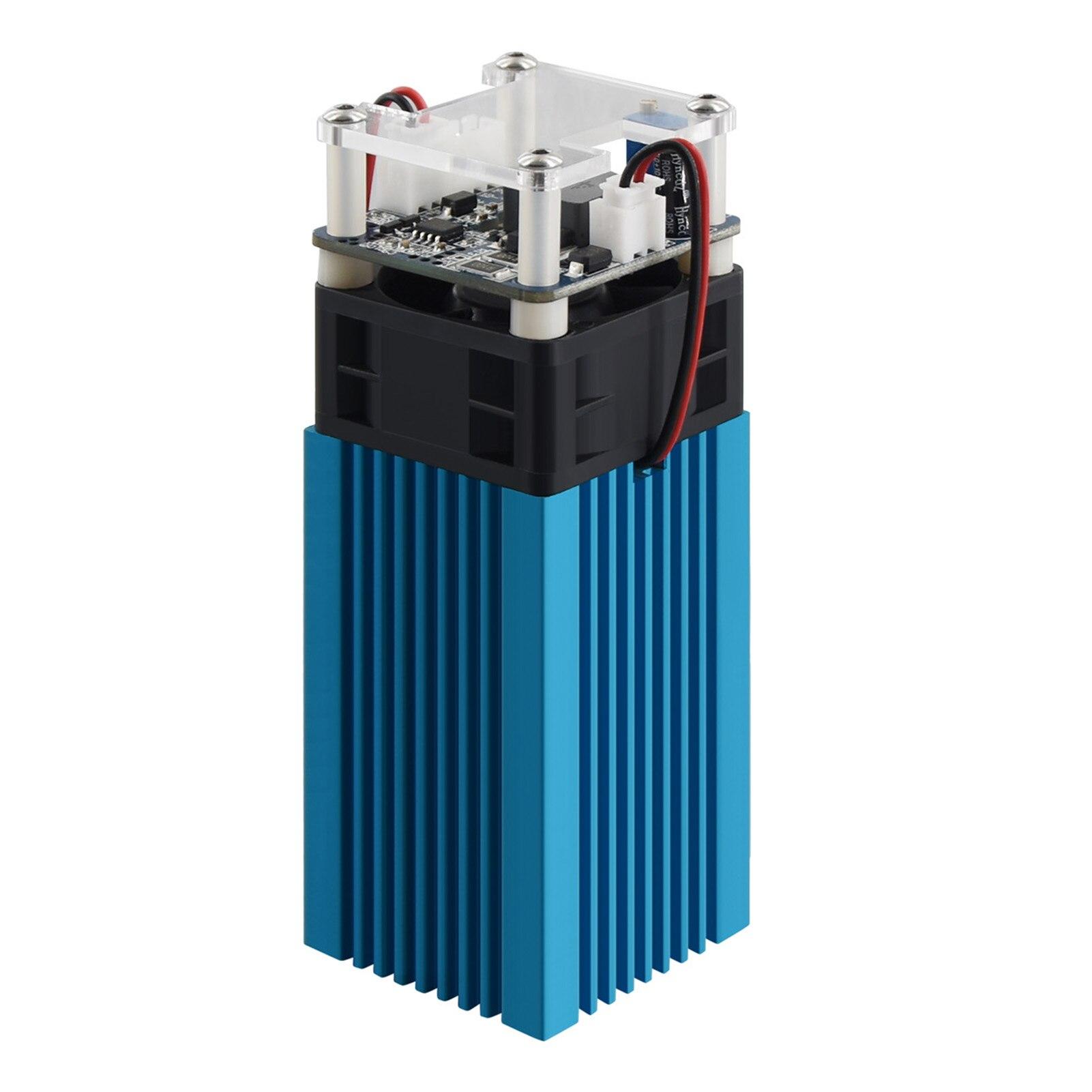 Лазерный Модуль LD + FAC, 40 Вт, 5,5 Вт, 450 нм, Непрерывный лазер, быстрая резка, Высокоточный гравер с блоком фокусировки, модуль для принтера, резак...