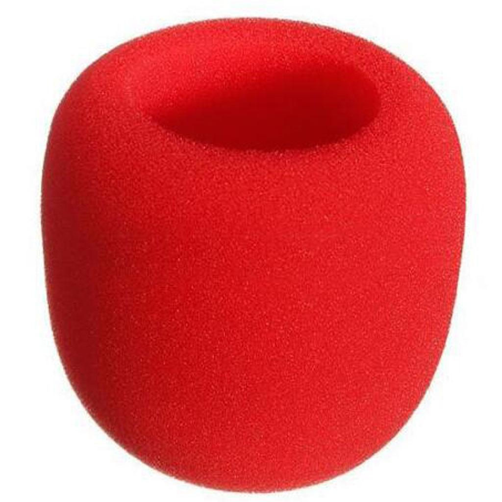 10pc pro capa de espuma de microfone antipop esponja pára-brisa mic escudo 5 cor