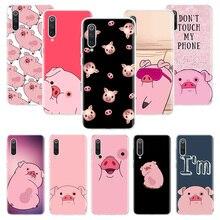 Nette ROSA Kawai Schwein Fall für Xiaomi Redmi Hinweis 10 9 9S 8 7 6 8T 8A 7A 6A S2 K30 K20 MI 9 8 CC9 F1 Lite Pro Weiche TPU Telefon Abdeckung