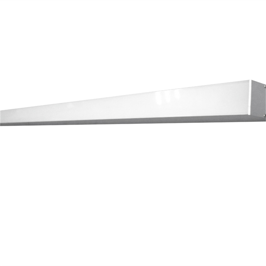 Free Shipping Suspended Office Aluminum 30W 1200mm40W 1500mm  Led Linear Light AC85-265V warm white natural white and cold white