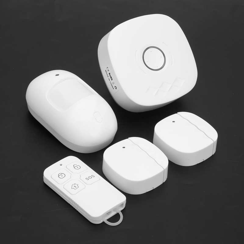 Smart Home Kit ABS WIFI Connection Smart Home Sensor for Home for Alarm enlarge
