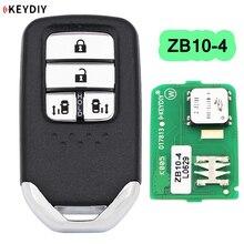 KEYDIY Universal Smart Key fob 4 Tasten ZB10-4 für KD-X2 KD900 Mini KD Schlüssel Generator Fit Mehr als 2000 Modelle
