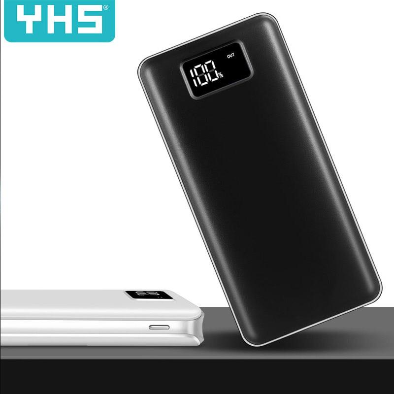 30000 мАч Внешний аккумулятор для XiaomiMi 2 USB внешний аккумулятор портативное зарядное устройство Внешний аккумулятор для iPhone7 8 X XS SamsungN9 N8