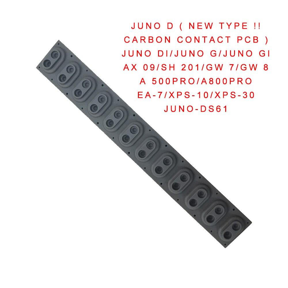 Recambio de goma conductora para Roland JUNO GW7 GW8 E09W EA-7 XPS
