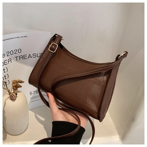 Fashion Exquisite Shopping Bag Retro Casual Women Totes 2021 New Trend Shoulder Bags Female Leather Solid Color Chain Handbag