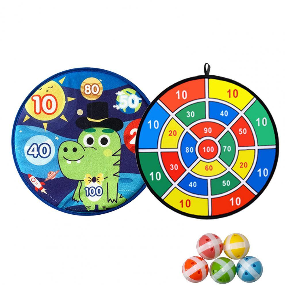 Фото - Sticky Target Balls Dart Board Game Parent Child Interaction Toy Set Kids Gift 2021 novelty kids bean bag toss game toys outdoor dart board game game toy set fun parent child interaction educational game