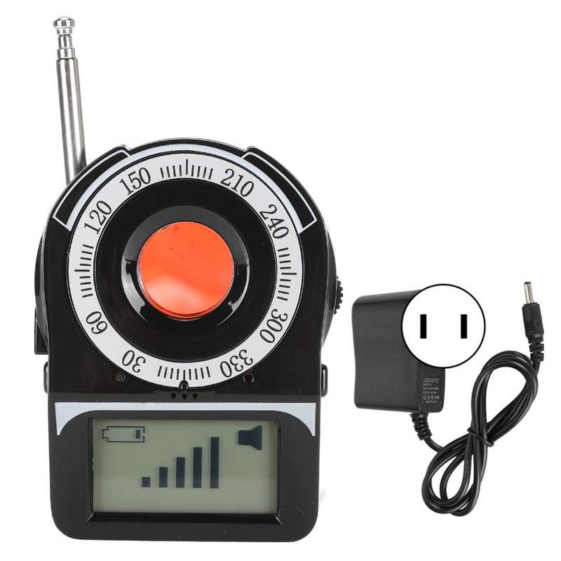 Camera Find Scanner GPS GSM WIFI G4 Radio Frequency Tracking Device Camera Find Detector Lens Scanner 100-240V