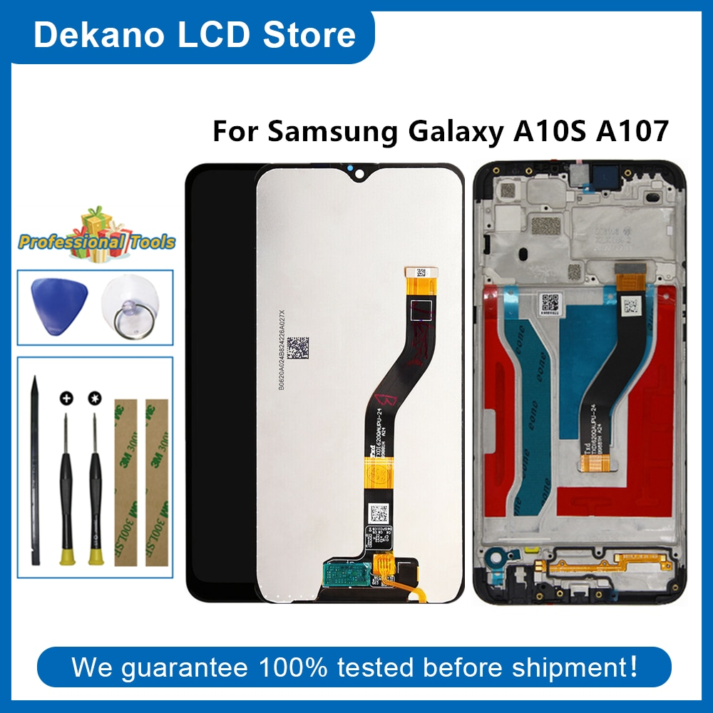 For Samsung Galaxy A10S A107 2019 SM-A107F/DS SM-A107M/DS SM-A107F SM-A105M Lcd Display Touch Screen