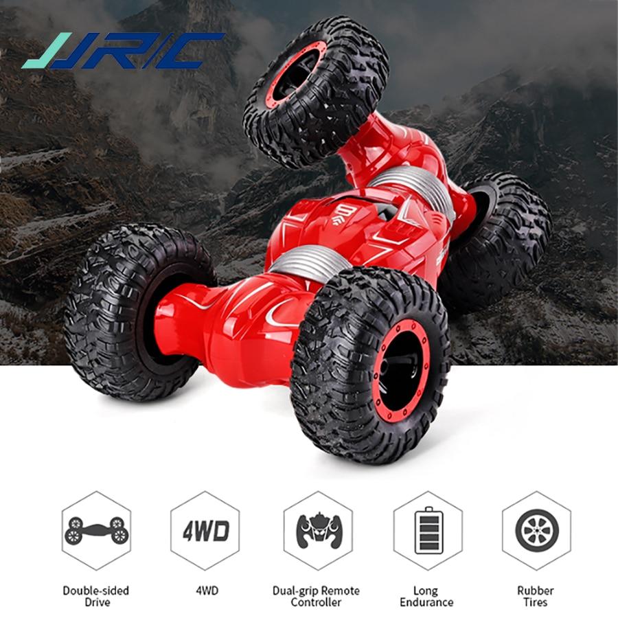 JJRC Q70 RC سيارة 4WD راديو التحكم 2.4 جيجا هرتز تويست الصحراء سيارات عربة صغيرة قلابة للطرق الوعرة لعبة عالية السرعة تسلق سيارة كهربائية ل ألعاب أطف...
