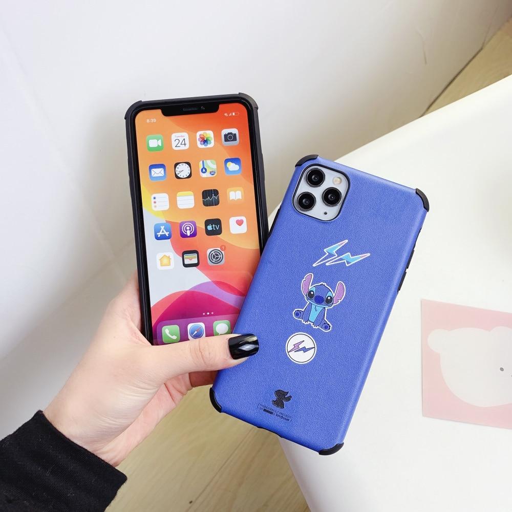 Phone-Case iPhone SE 2 2020 Tide brand Cute For iPhone 11 Pro Max X XR 8 7 Plus 6s High Quality Anti fall Cover Coque Funda
