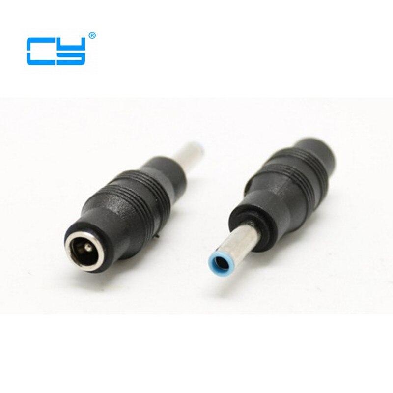 4,8*1,7mm femea para 4,5*3,0mm dc masculino conector alimentacao para hp compaq portátil...
