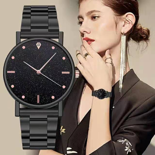 WOKAI 2021New Fashion Women Watches Ladies Top Brand luxury Waterproof Quartz Clocks Watch Women Sta