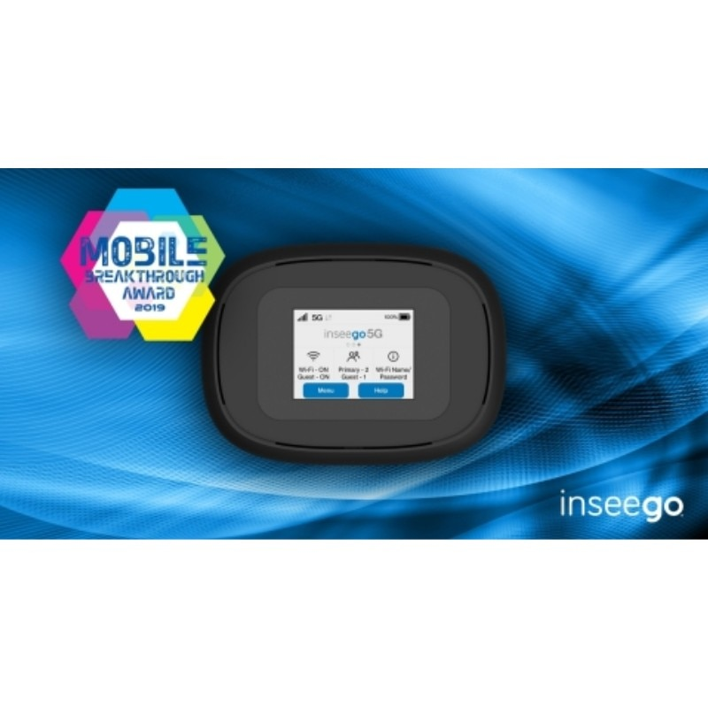 Inseego Verizon 5G and 4G LTE MiFi M1000 Hotspot enlarge